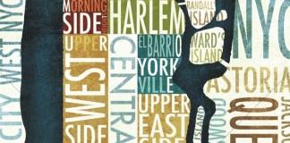Manhattan Map - Wall Art by Michael Mullan