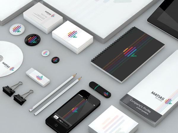Matias Security – Brand Identity by Dora Klimczyk