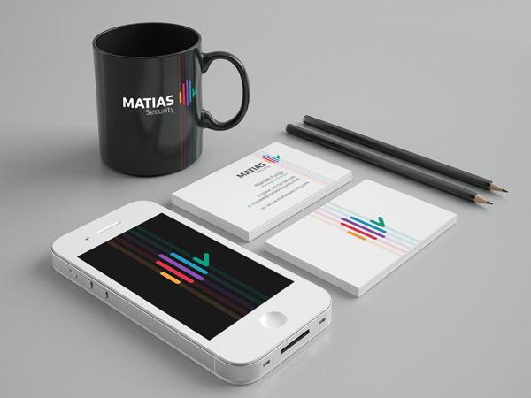 Matias Security - Brand Identity by Dora Klimczyk