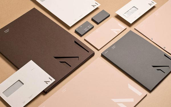 Mellbye - Architecture Studio Identity by Heydays