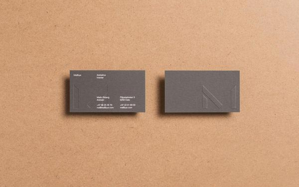 Mellbye - Business Cards by Heydays