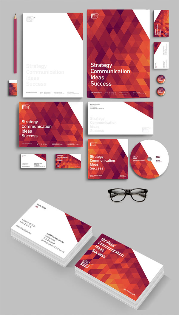 PBC Corporate Identity Design by Attila Horvath/Darkoo™