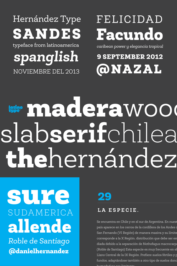 Roble Font by Latinotype