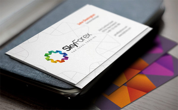 SkyForex Business Cards by Cosmin Cuciureanu