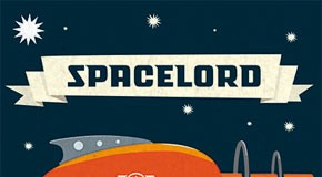 Spacelord - retro futuristic type family