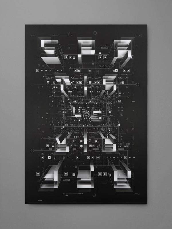 Spatial Affairs Bureau by Karnes Poster Company