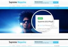 Supreme - Retina Responsive Magazine and Blog WordPress Theme