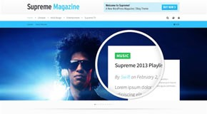 Supreme - Retina Responsive Magazine and Blog WordPress Theme