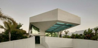 The Jellyfish House in Marbella, Spain by Wiel Arets Architects