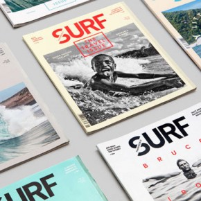 Transworld Surf Magazine Redesign by Wedge & Lever