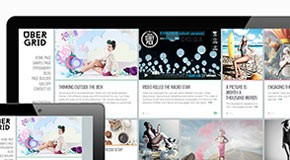 Ubergrid - Grid WordPress Theme
