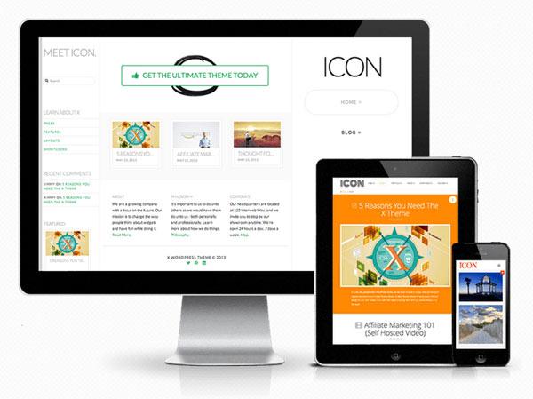 X - WordPress Theme - Icon