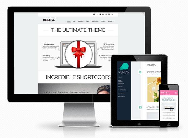 X - WordPress Theme - Renew