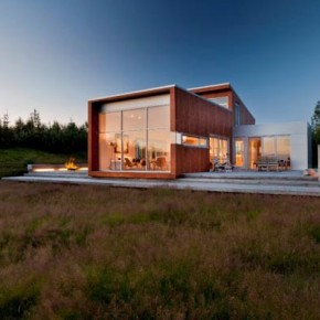 Family House near Reykjavik, Iceland by Minarc