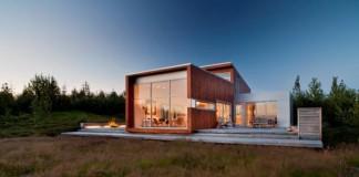 Family House near Reykjavik, Iceland by Minarc
