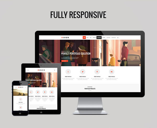 River WordPress Theme