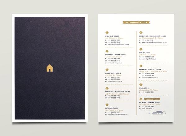 Wedding Invitations by Jono Garrett