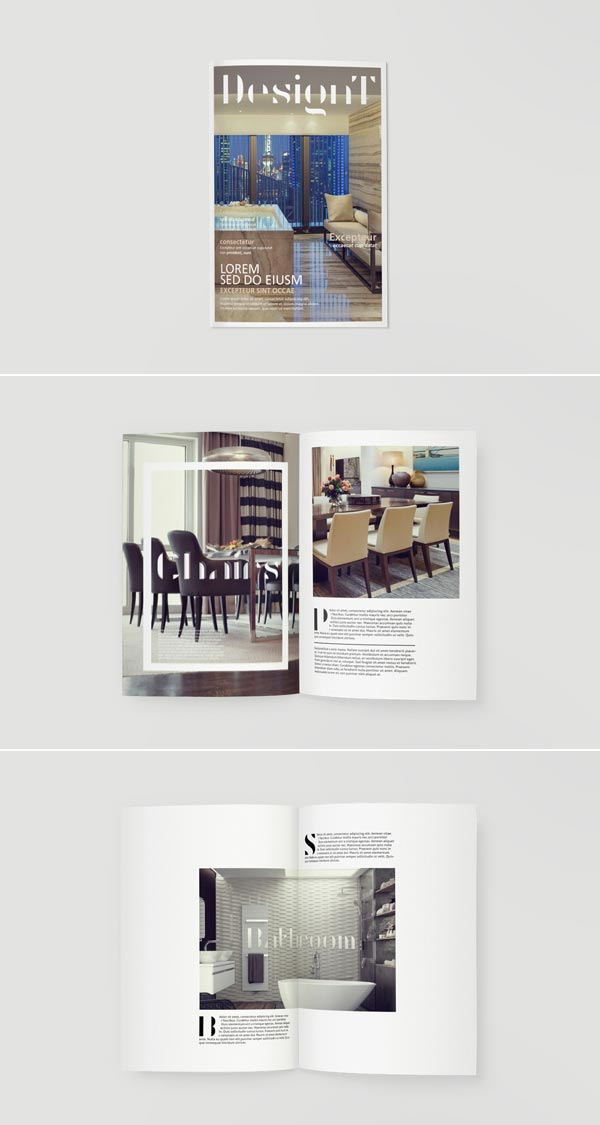 Designt visual identity by pixelinme Home decorating magazines online