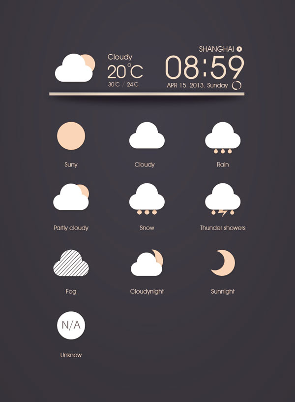 UI Icon Design by Kindesign