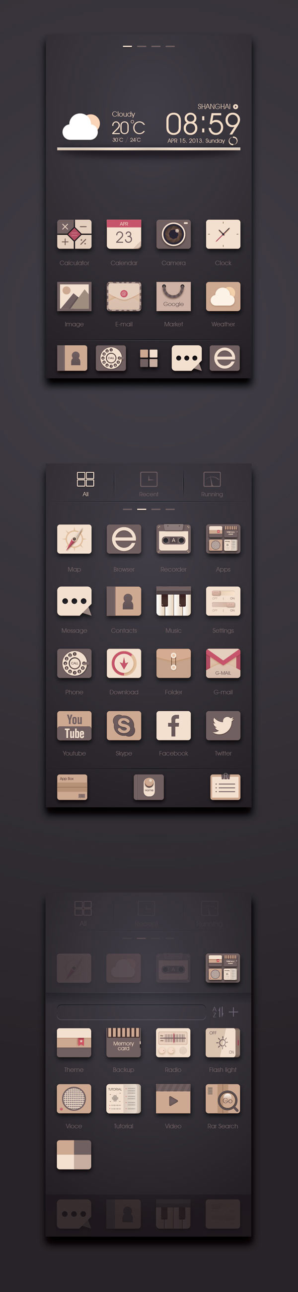 User Interface Design by Kindesign