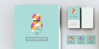 Sinhazinhas - women's clothing brand identity by Isabela Rodrigues