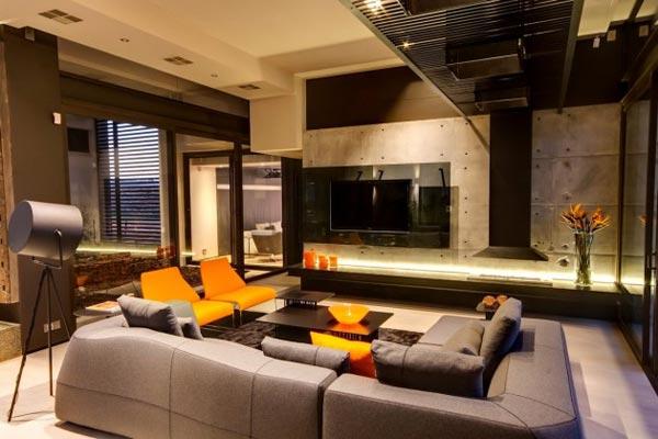 House Boz in Pretoria, South Africa by Nico van der Meulen Architects
