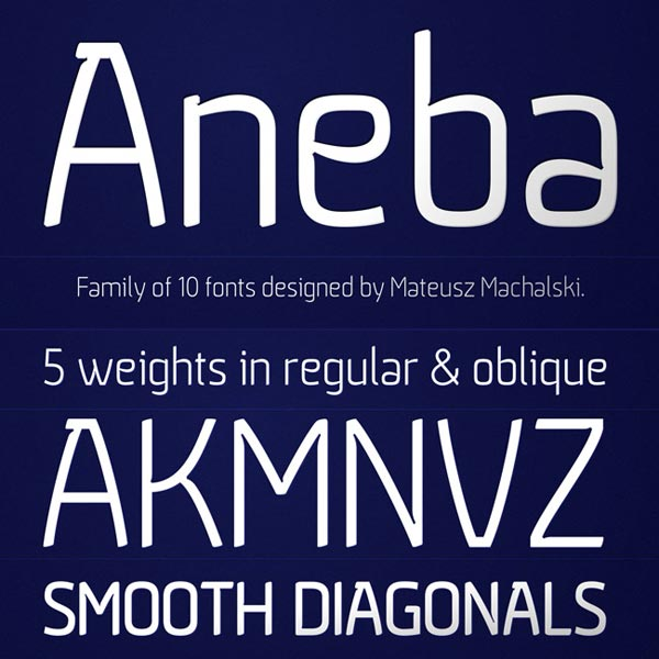 Aneba Font Family for only $7!