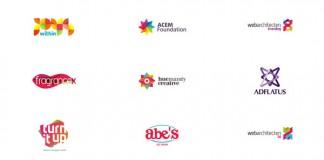 Colorful Logo Designs by Alex Tass