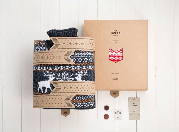 Deerz - clothing brand and packaging design by Studio Eskimo