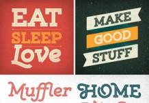 Gist - retro inline slab serif font from Yellow Design Studio