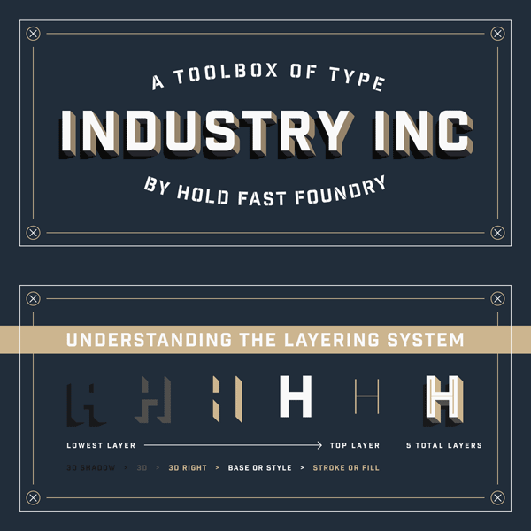 Industry Inc including layering system