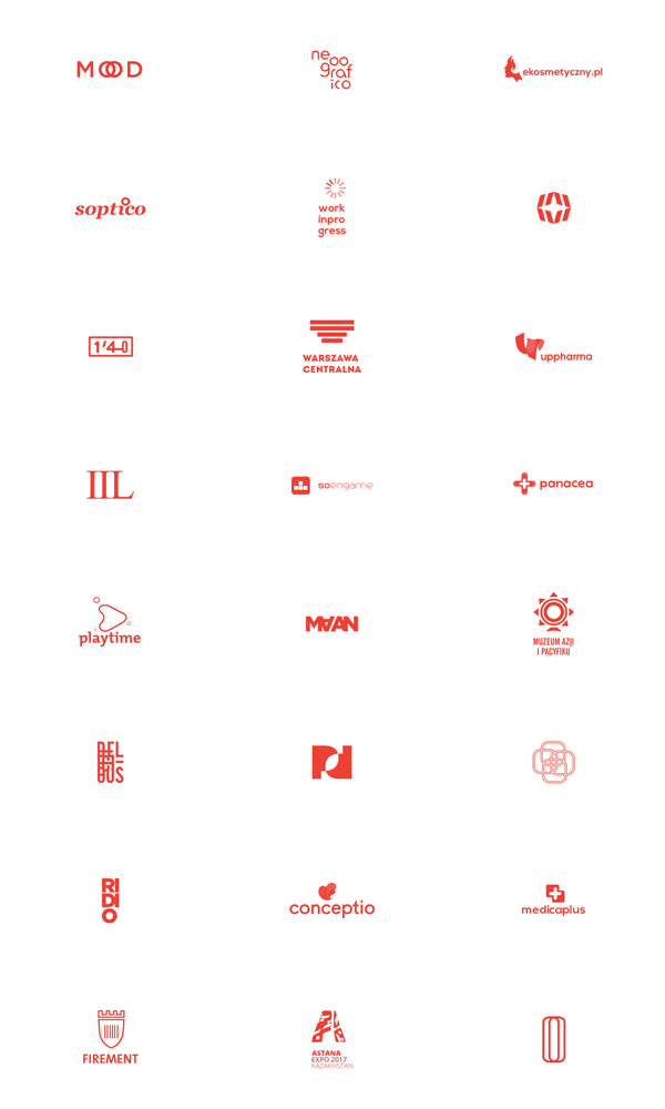 Logo Collection by Jan Janeczek
