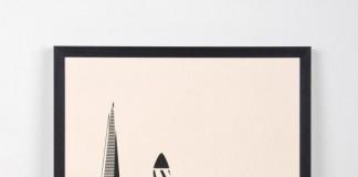 London City Screenprint by me&him&you