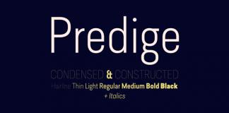 Predige - Condensed Sans Serif Font Family