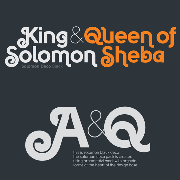 Solomon Type Family from Fontfabric