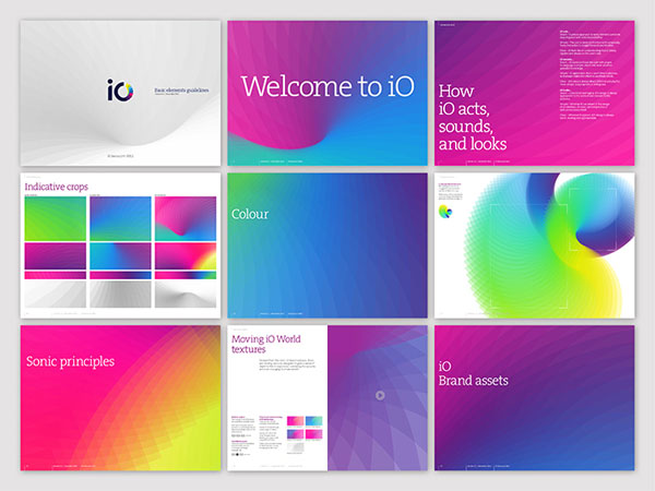 Swisscom iO - Visual Identity by Moving Brands