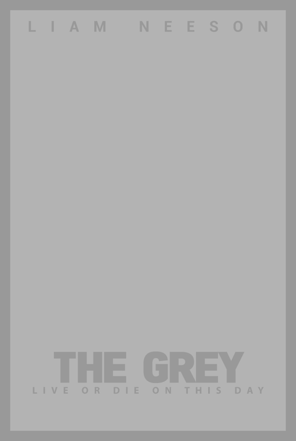 The Grey - Literal Movie Posters by Danish Ahmed