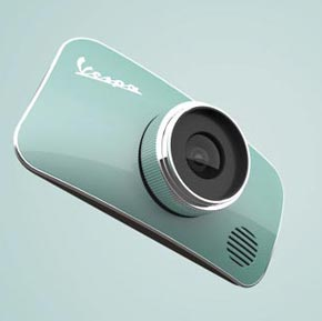 Vespa Cam - Design Concept by Rotimi Solola and Cait Miklasz