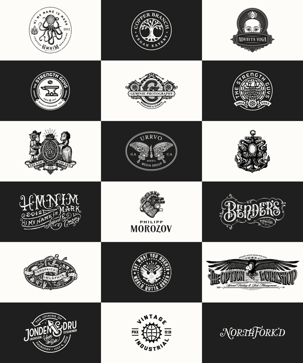 Vintage Logos by Forefathers Group