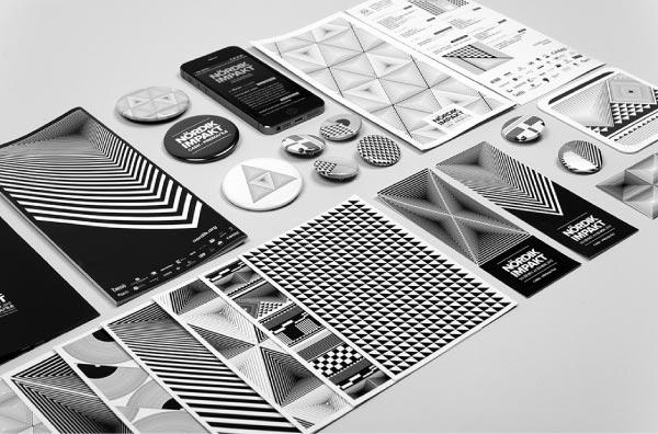 Nördik Impakt 15 - Visual Identity by Murmure
