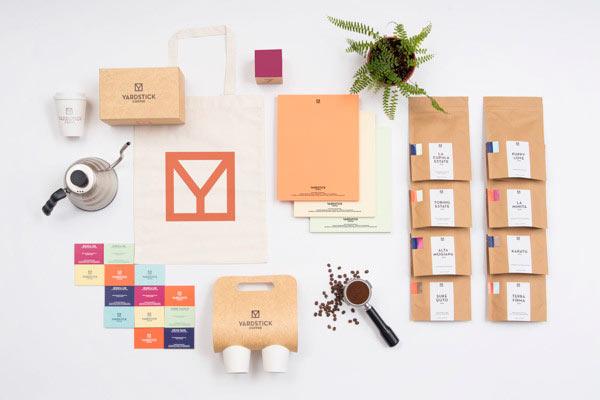 Yardstick Coffee Brand Identity by ACRE