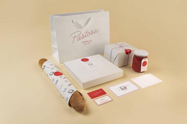 Pastosa Ravioli Co. - Identity Concept by Naomie Ross and Daniel Renda