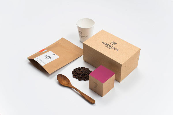 Yardstick Coffee Brand Identity by ACRE