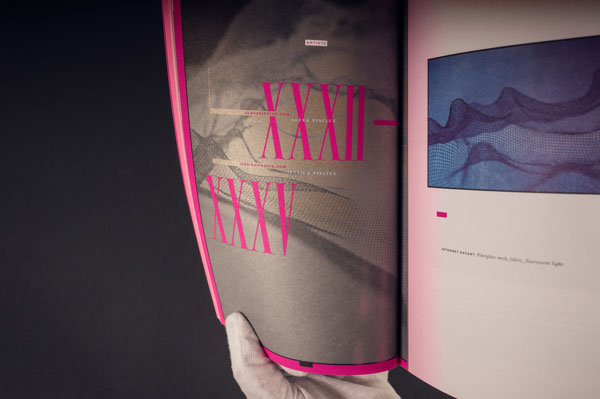 Typeforce 3 - Exhibition Catalog by Firebelly Design