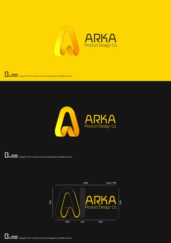ARKA Product Design Co. - Logo Design by Mohsen Beygzadeh