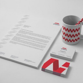 Ampers - Corporate Design by Michał Markiewicz