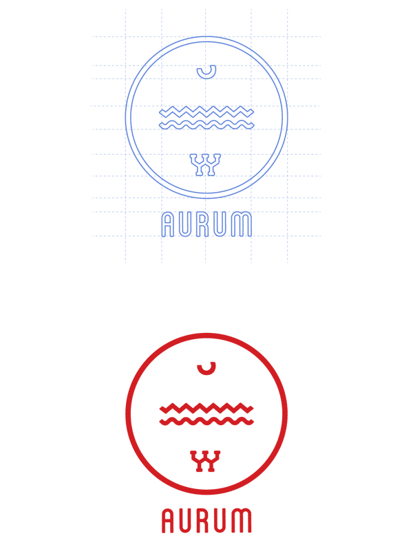 Aurum - Logo Design by Catherine Marion