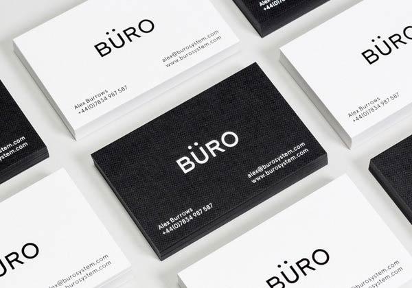 Büro System - Business Cards by Socio Design