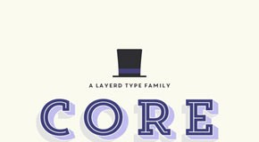Core Magic font family from S-Core