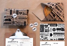 Harveys Brand Design by Tad Carpenter